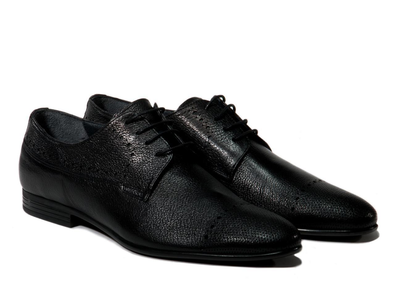 Туфли Etor 12651-1617-1 черные, фото 1
