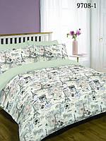 Комплект постельного белья от производителя вилюта ранфорс платинум 9708 полуторный