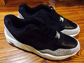 Мужские кроссовки Puma R698 Snow Splatter Pack Black / White 358391-01, Пума Р698, фото 2