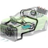 Система охлаждения Ford Mustang Форд Мустанг 2013-2015