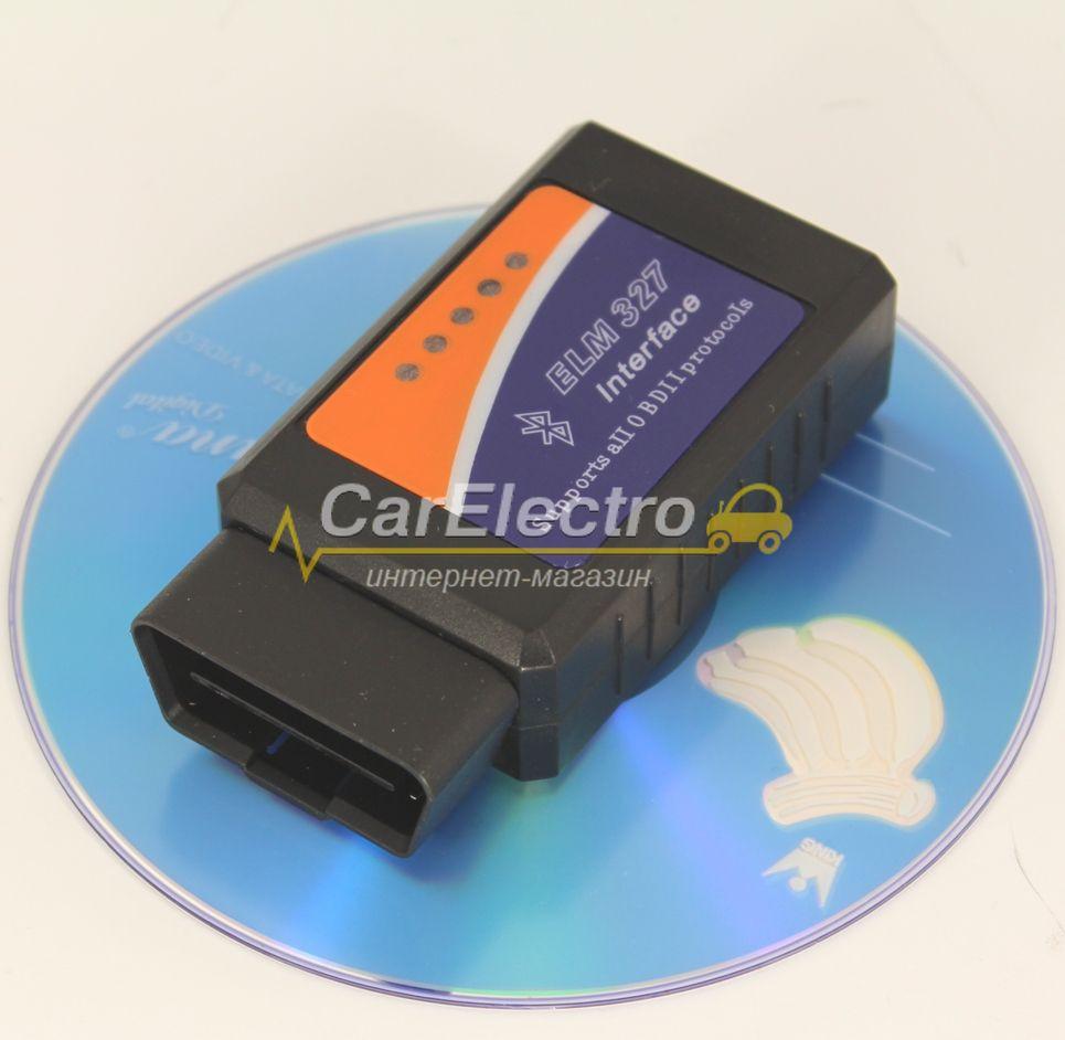 ELM-327 Bluetooth V1.5 диагностический адаптер