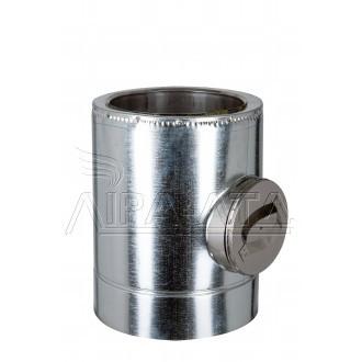 Ревизия дымоходная термо 1 мм н/оц AISI 304