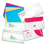 Конверты на заказ, изготовление конвертов