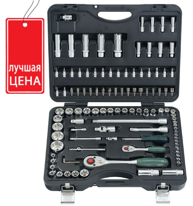 Набор инструментов  Force 108 предметов 41082R, 41082R-5, 41082R-9