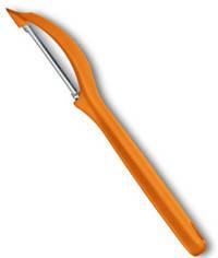 Прочный нож для чистки овощей Victorinox 76075.9 оранжевый