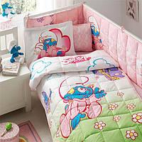 Комплект постельного белья для детской кроватки SIRINLER BABY