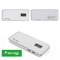 Внешний аккумулятор Bilitong Y073 Power Bank 10400 mAh (белый)