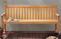Скамейка со спинкой Sedona Classic 3 Seat Garden Bench.