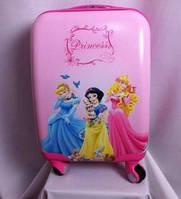 """Детские чемоданы 18"""" на 4 колесах Princess"""
