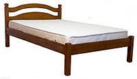 Кровать односпальная Ассоль из натурального дерева