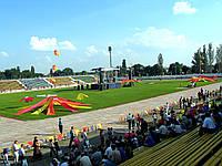 Оформление профессионального праздника на стадионе