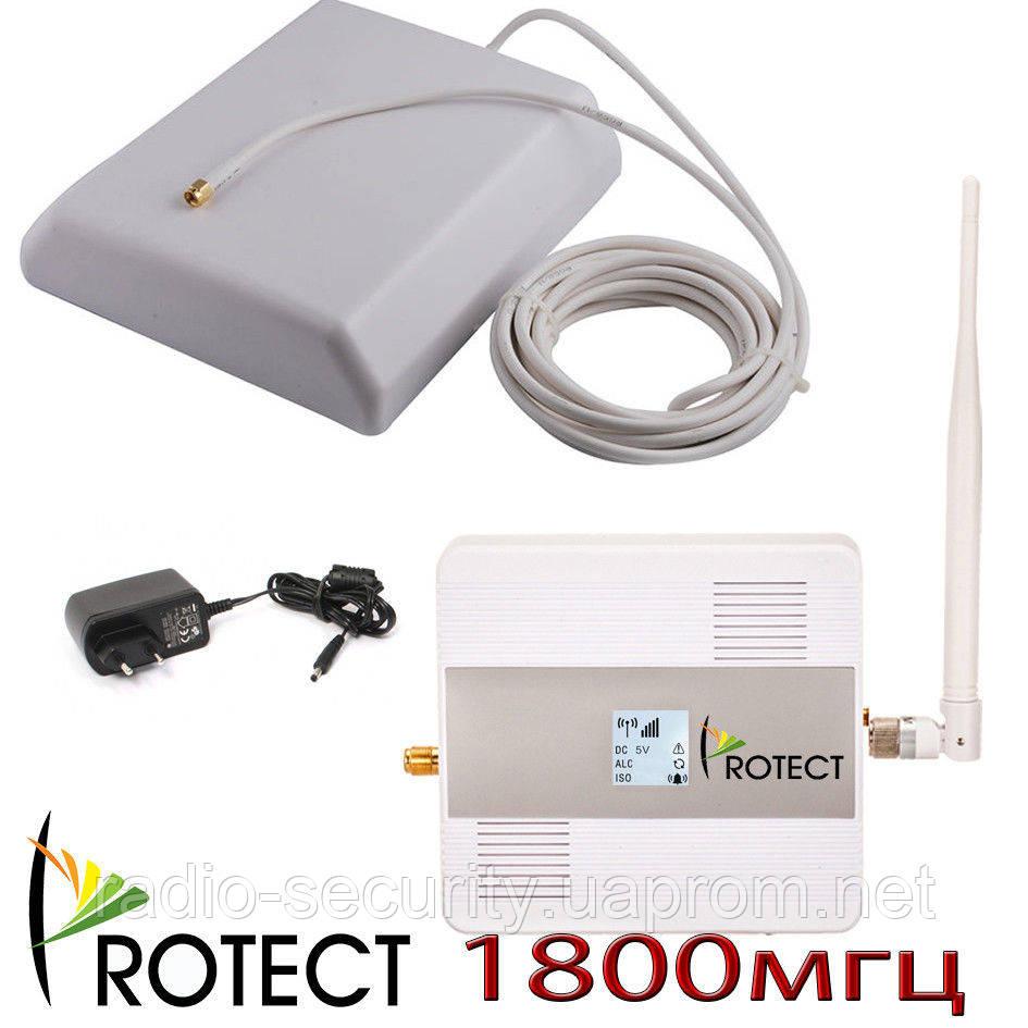 Комплект усилитель мобильной связи gsm для дачи 1800 мгц репитер