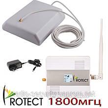Комплект підсилювач мобільного зв'язку gsm для дачі 1800 мгц репітер