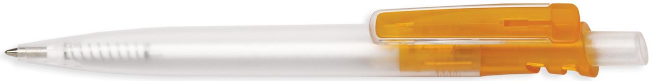 Ручка пластиковая VIVA PENS Grand Cristal прозрачно-оранжевая