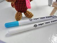 Маркер для рисования по темным тканям смываемый водой Adger