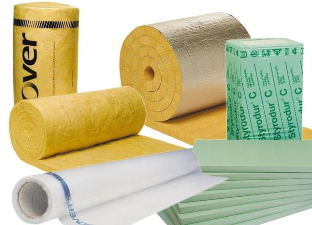Изоляционные материалы (утеплители, пенопласт)