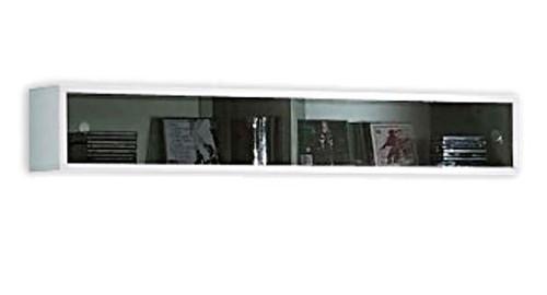 Полка-витрина SFW2W_2_12 Янг белый глянец (БРВ-Украина)