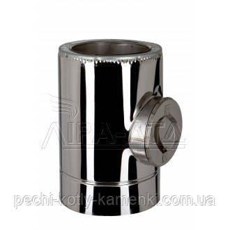Ревизия дымоходная термо 0,8 мм н/н AISI 304