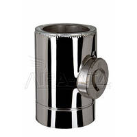 Ревизия дымоходная термо 0,8мм н/н AISI 304