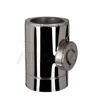 Ревизия дымоходная термо 0,8 мм н/н AISI 304, фото 2