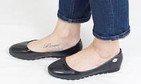 Туфли лаковые, на тракторной подошве 40 размер, фото 1