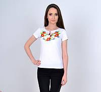Женская вышиванка Веснянка цвет белый до 56 размера