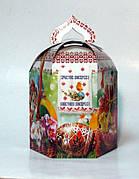 Пасхальный кулич в праздничной картонной упаковке