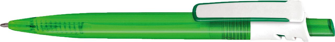 Ручка пластиковая VIVA PENS Grand Mix прозрачно-зеленая