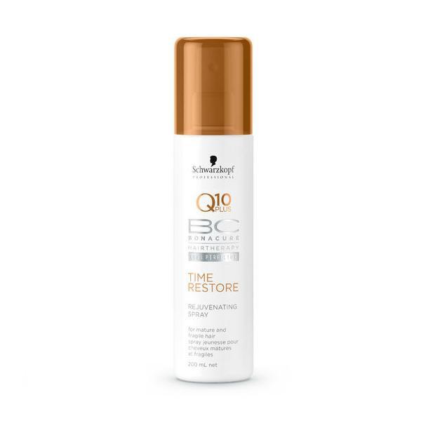 Восстанавливающий спрей-кондиционер для зрелых  волос Schwarzkopf Professional Bonacure Time Restore Q10