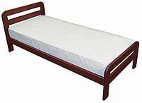 Кровать односпальная Эстелла из натурального дерева