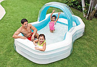 Детский надувной прямоугольный бассейн Intex 57198