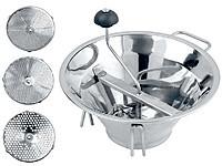 Профессиональная ручная машинка для протирки ягод 33 см OMAC 800 Chef