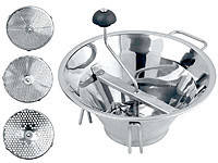 Профессиональная ручная машинка для протирки ягод 33 см OMAC 800 Chef, фото 2