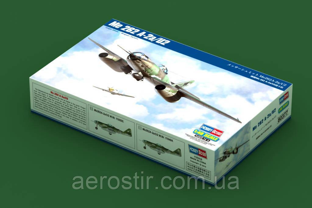 Бомбардировщик  Ме 262А-2а\U2     Hobby Boss 80377