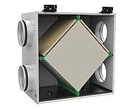 Приочно-вытяжная вентиляция с рекуператором теплоты