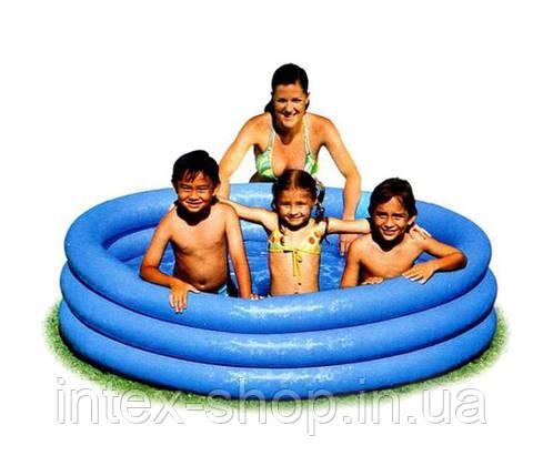 Детский надувной бассейн Crystal Blue Intex 58426, фото 2