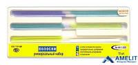 Штрипсы полоски пластиковые ТОР ВМ, №НК 1.055, ассорти, 75шт./упак.