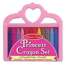 Мелки полимерные Принцесса 12 цветов
