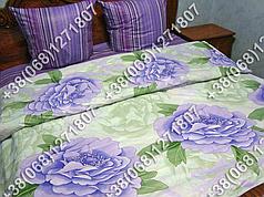 Постельное белье бязь - полуторный комплект (0599)