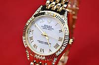 Женские часы Role-x Qyster Perpetual Date Just Gold копия