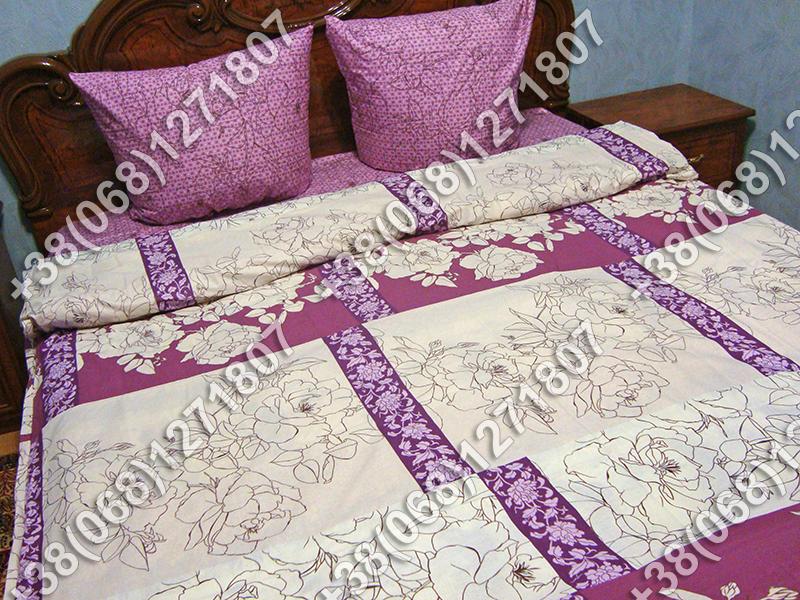Постельное белье бязь - полуторный комплект (0617)