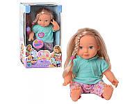 Кукла 5372 мягкотел,Мила,реагирует на микрофон/телефон
