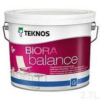 БИОРА БАЛАНС абсолютно матовая краска для стен повышенной стойкости