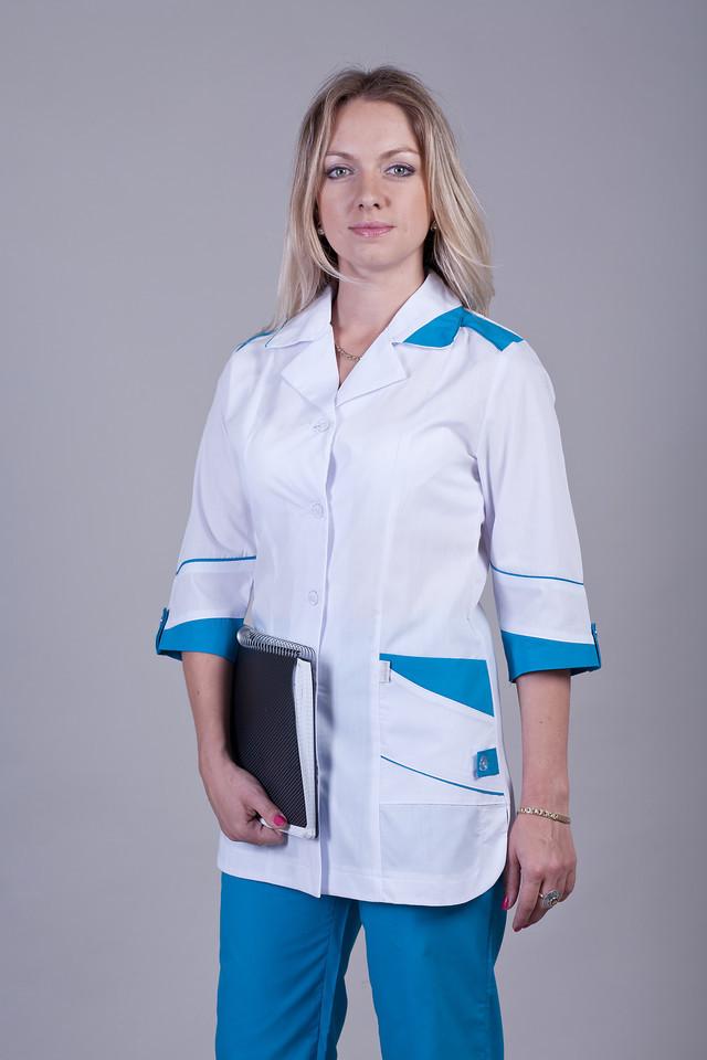 Комбинированный медицинский костюм