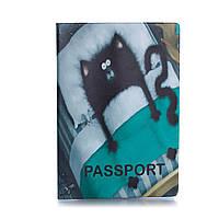 Обложка для паспорта «Кот в кровате», фото 1