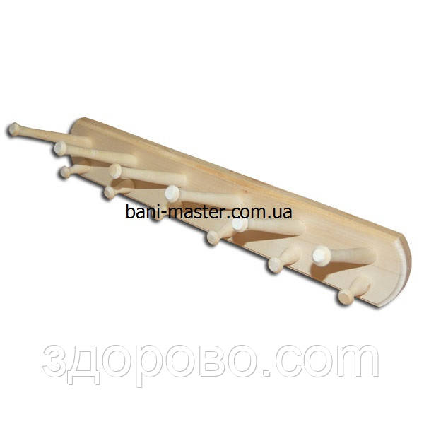 Вешалка 12 крючков (липа)