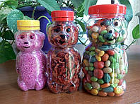 Банка пластиковая  «Мишка Гамми» («Gummi Bears») 230,340,750 мл.