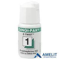 Джинджи-Пак (Gingi-Pak), нить ретракционная №1, зеленая, 1шт.