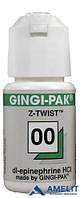 Джинджи-Пак (Gingi-Pak), нить ретракционная, №00, зеленая, 1шт.