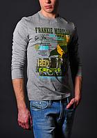 Мужская серая кофта - Frankie Morello